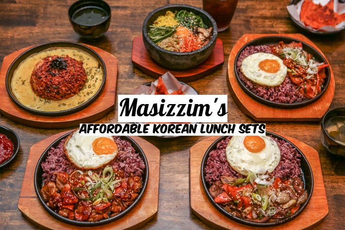 MASIZZIM'S AFFORDABLE KOREAN LUNCH SETS