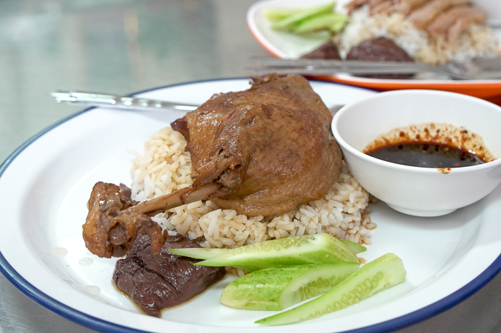 Pondtip Stewed Duck Rice
