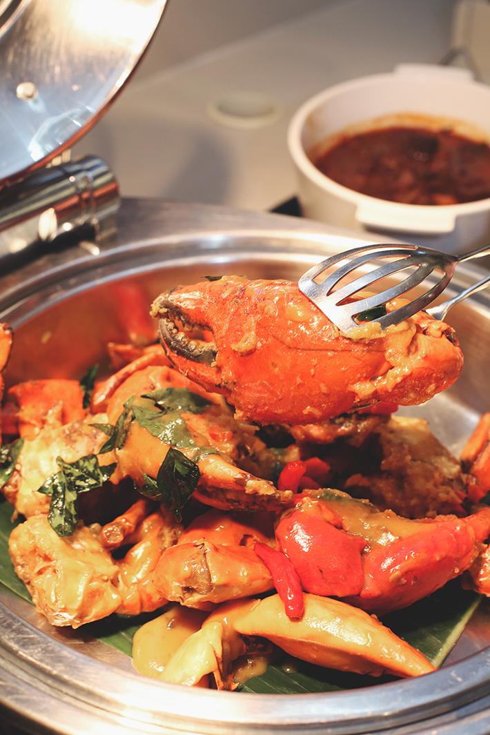 Salted Egg Yolk Crab ginger