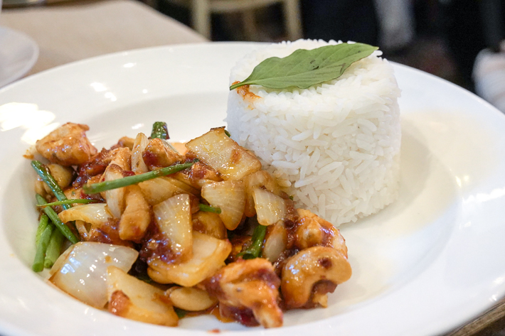 THE SIXTH CASHEW CHICKEN.