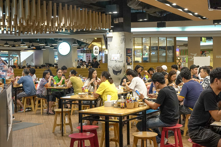 KIN TIEW KAN  UNION MALL BOAT NOODLES INTERIOR