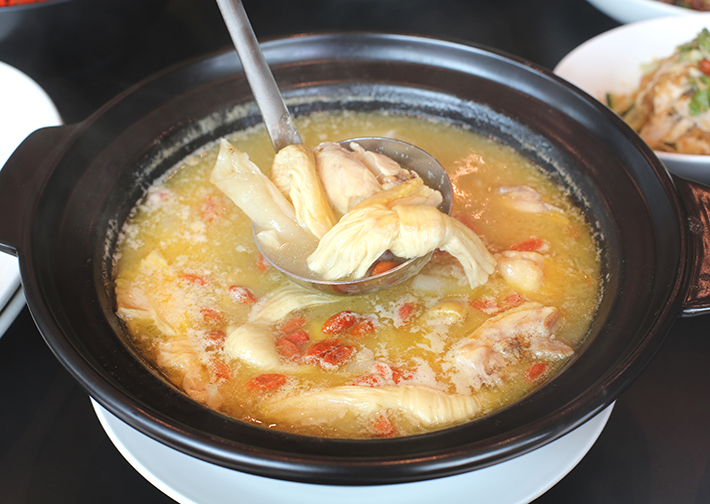 fish maw chicken soup TASTE by TungLok