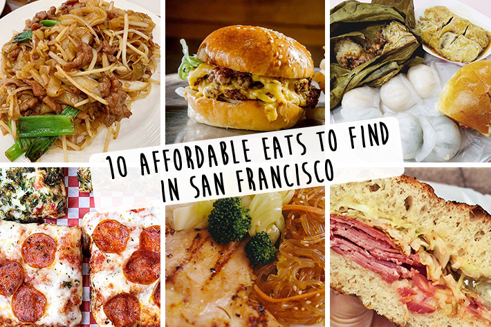 10 Affordable Eats to Find in San Francisco Cover Photo