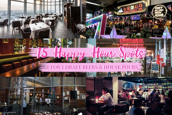 15 Happy Hour Spots Cover