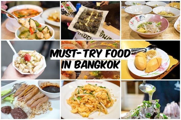 BANGKOK FOOD COLLAGE
