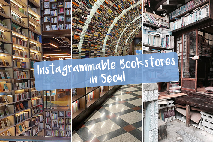 Instagrammable Bookstores in Seoul-Revised
