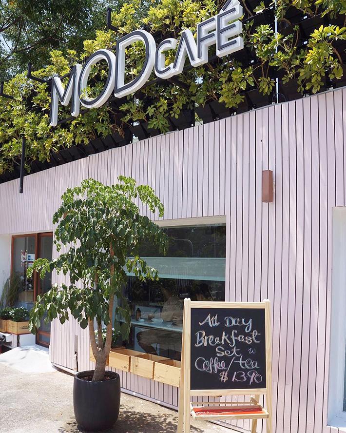 MOD Cafe Exterior