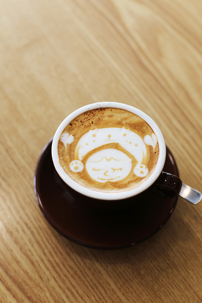 Suzuki Cafe & Roastery Hot Cappuccino