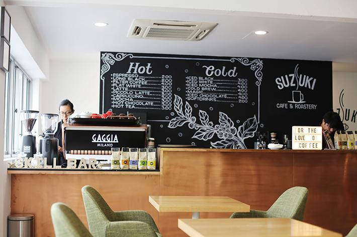 Suzuki Cafe & Roastery Interior 01