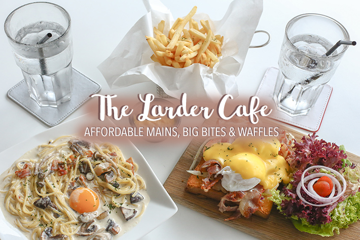 The Larder Cafe Cover