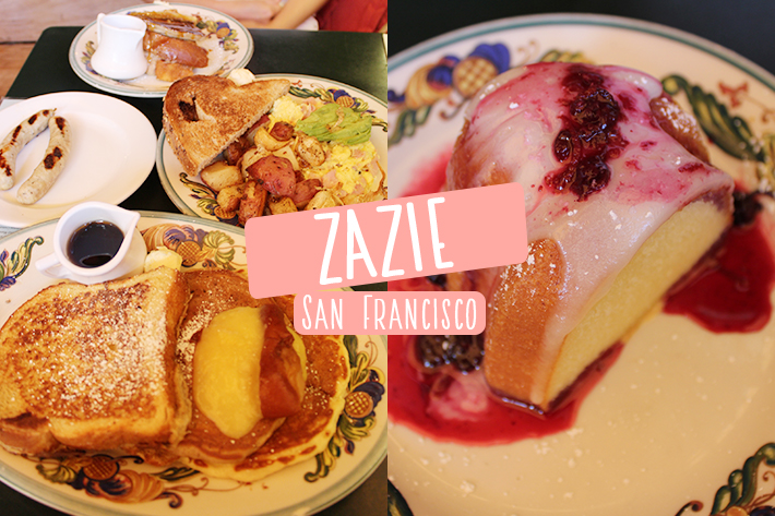Zazie San Francisco Cover Image