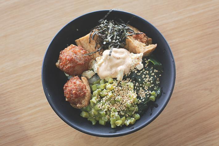 ah lock hakka tofu bowl