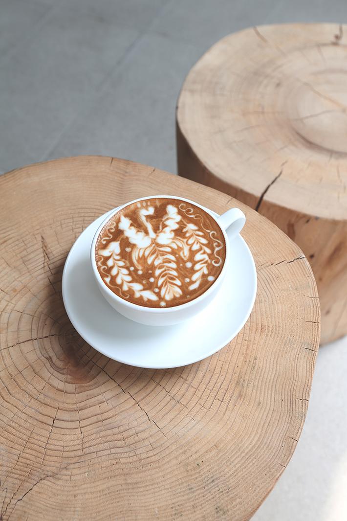latte art grace espresso coffee