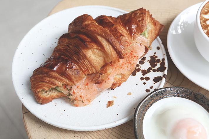 salmon avocado croissant grace espresso