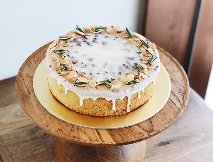 sunday folks lemon lavender cake