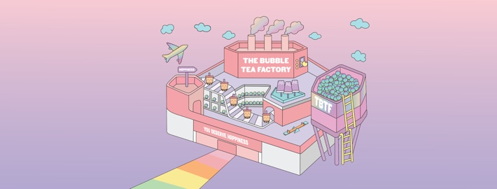 the bubble tea factory