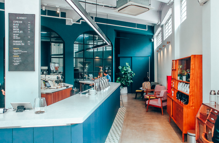 Alchemist Coffee Interior