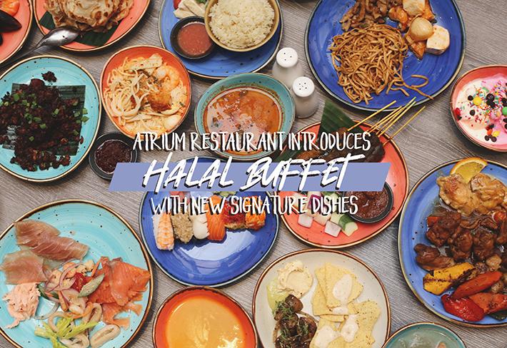 Atrium Restaurant Halal Buffet