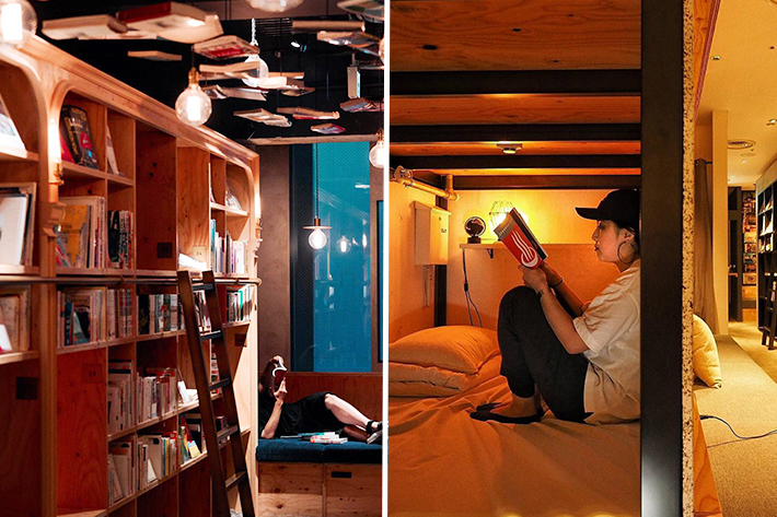 Book and Bed