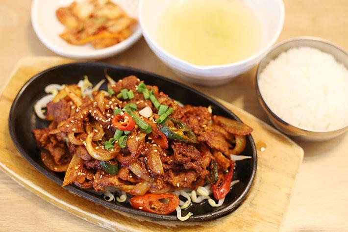 Doong Ji Spicy Pork