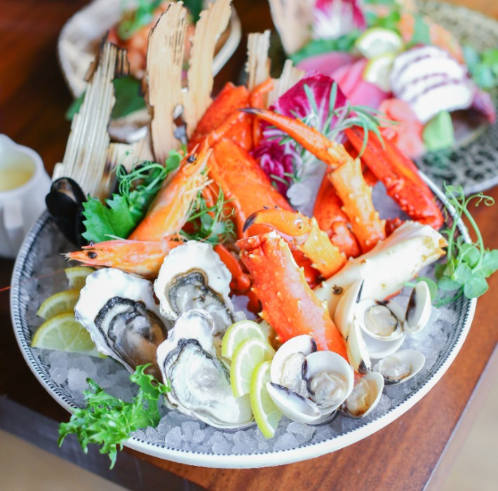 Edge Seafood Platter Photo