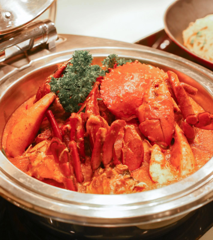GINGER restaurant Chilli Crab