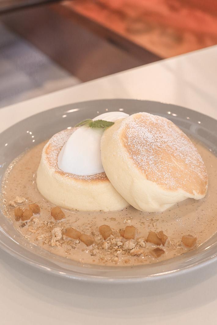 paulin myeongdong souffle pancakes seoul