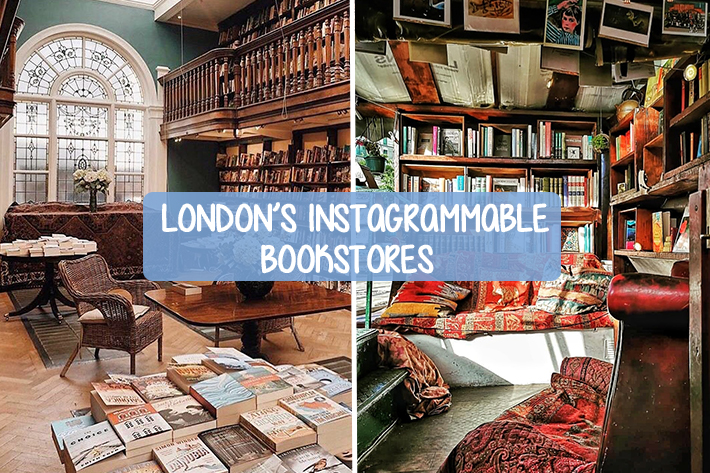 London's Instagrammable Bookstores Cover Image