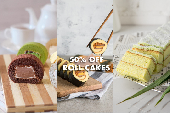 NOW-BAKERY-ROLL-CAKES Singapore