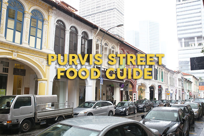 Purvis Street Food Guide