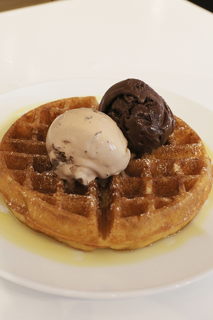Sweet Cheeks Waffle and Ice Cream