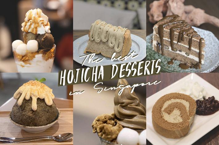 cover image hojicha desserts