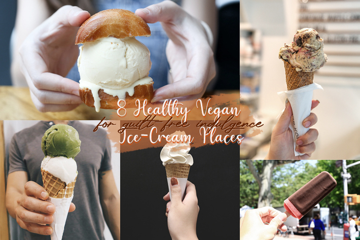 8 Vegan Ice Creams Banner