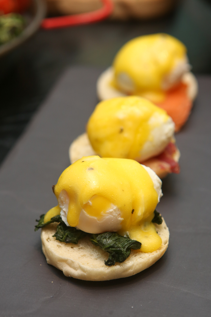 BEACH ROAD KITCHEN EGGS BENEDICTS