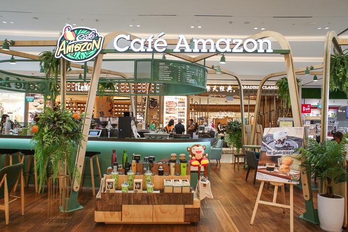 CAFE AMAZON EXTERIOR