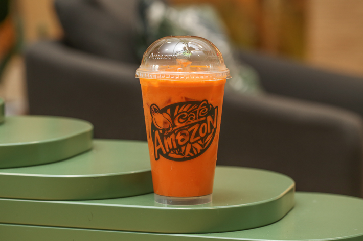 CAFE AMAZON ICED THAI MILK TEA