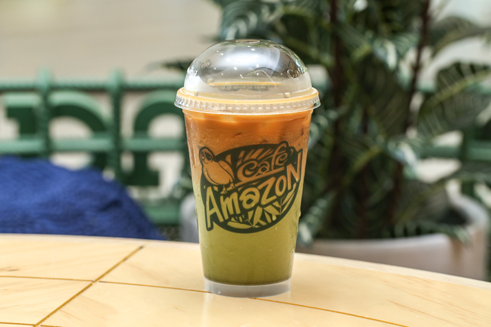 CAFE AMAZON ICED YIN YANG..