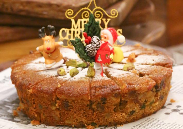 Ginger Fruitcake