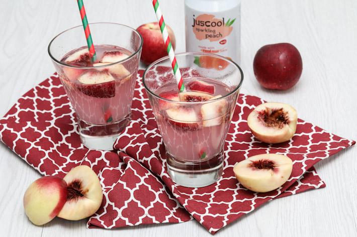 Juscool Peach Soda