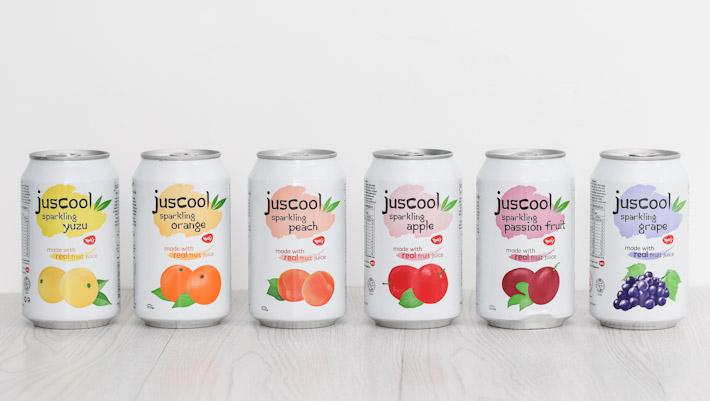 Juscool Sparkling Fruit Drink
