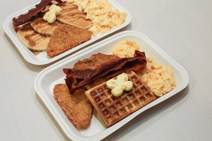 KFC Breakfast Platter