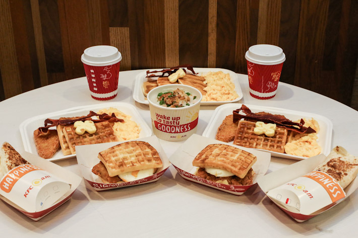 KFC Breakfast Sets