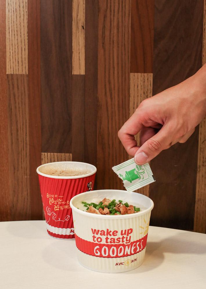 KFC Porridge Set