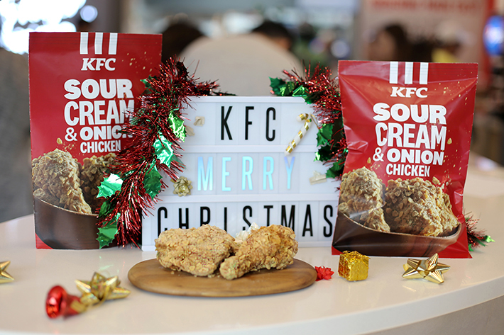 KFC Sour Cream and Onion Chicken Festive Banner
