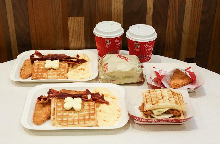 KFC Waffle Sets