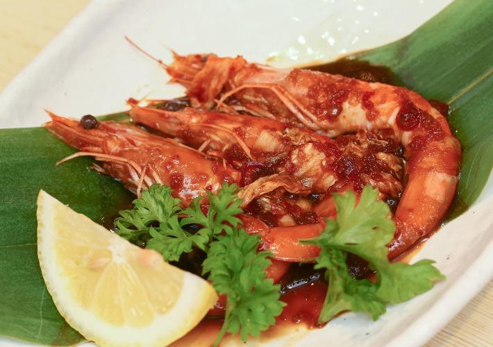 Kimchi Prawn