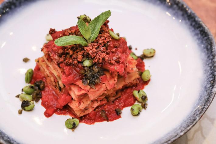 LingZhi Vegetarian Lasagne