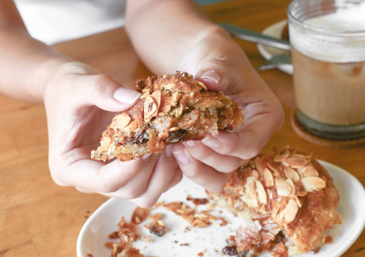 Mother Dough Almond Chocolate Croissant Piece
