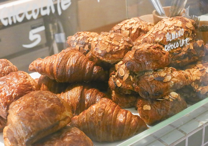 Mother Dough Croissants Display