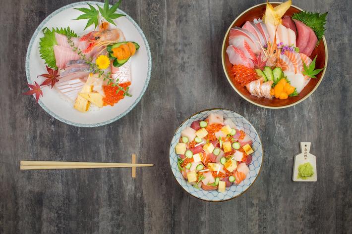 The Sushi Bar Sashimi Chirashi Don